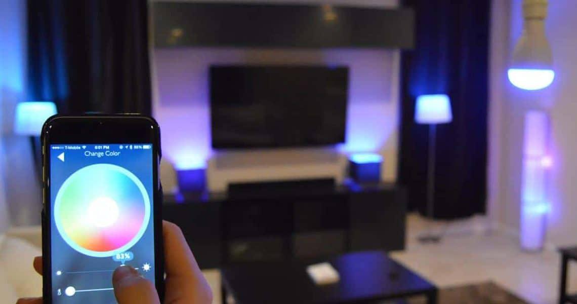 Ampoule connectée et éclairage intelligent